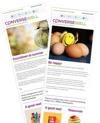 Converse Well management newsletter
